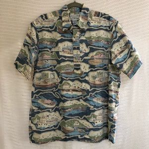 Vintage  XL Reyn Spooner Pullover Yachting shirt